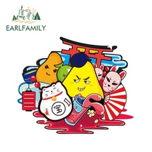 EARLFAMILY 13cm x Japanese Style Car Stickers fruit Decals Graphics Motorcycle Skateboard Laptop Waterproof DIY Sticker