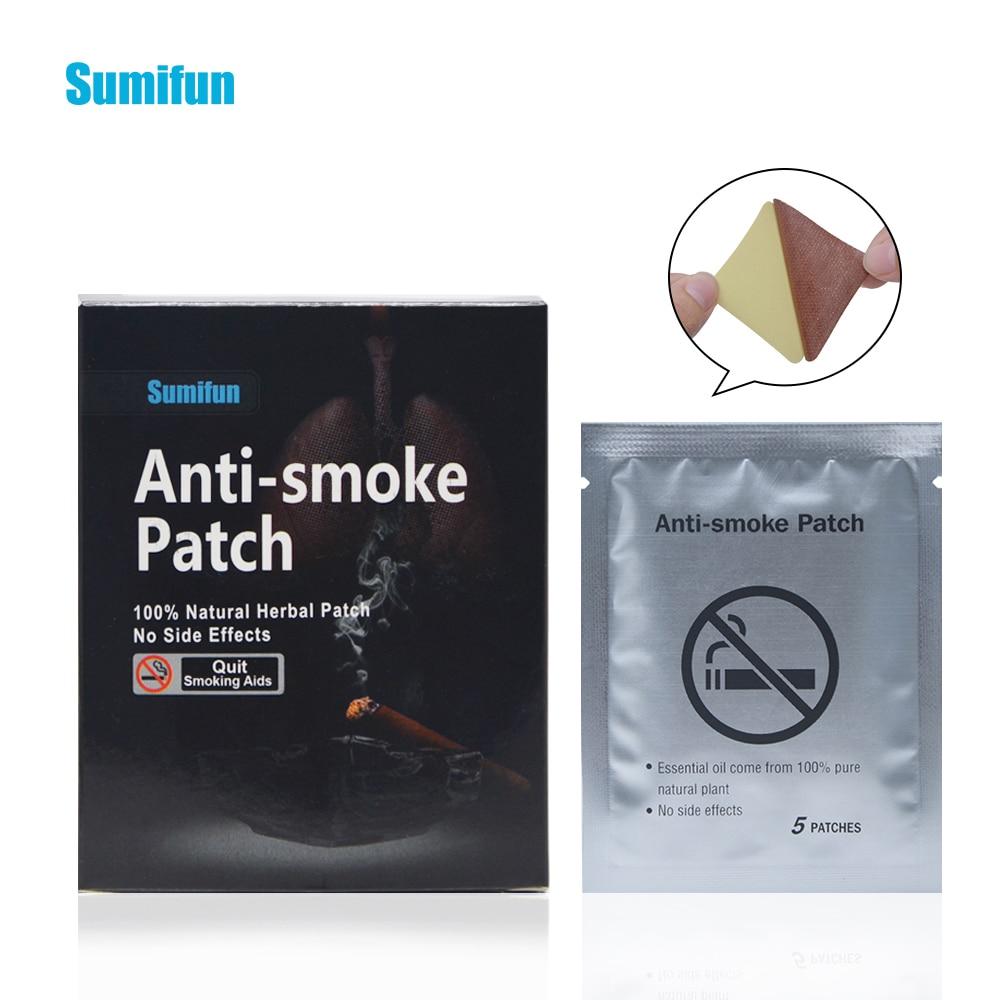 35 Patches Sumifun Stop Smoking Anti Smoke Patch For Smoking Cessation Patch 100% Natural Ingredient Quit Smoking Patch K01201