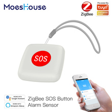 Alarm Switch-Tuya Smart-Life-App Remote-Control Sos-Button-Sensor-Alarm Help Elderly