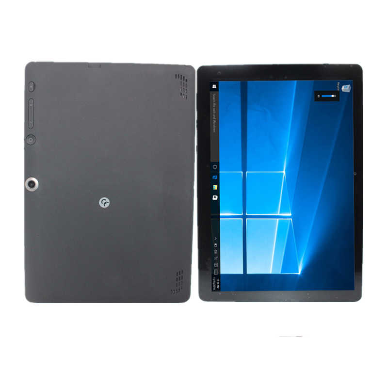 Quad Core Windows 10 tablette 10 pouces 2 go de RAM 32 go ROM Atom (mc) CPU Z3735F 1280x800 noir WiFi Bluetooth