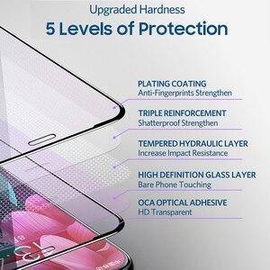 Image 4 - Benks VPRO 0.3 millimetri di Vetro Temperato Per Il IPhone XS 5.8 XS MAX 6.5 XR Protezioni di Schermo Anti Blu ray Vetro Della Copertura Completa Anteriore Pellicola