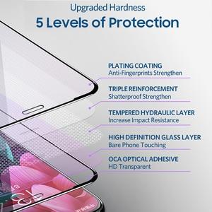 Image 4 - Benks VPRO 0.3mm מזג זכוכית עבור IPhone XS 5.8 XS מקסימום 6.5 XR מסך מגיני אנטי כחול ray זכוכית מלא כיסוי קדמי סרט