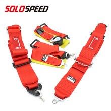 "SP ראסינג 4 נקודת בטיחות לרתום Camlock 3 ""רצועת מושב חגורה"