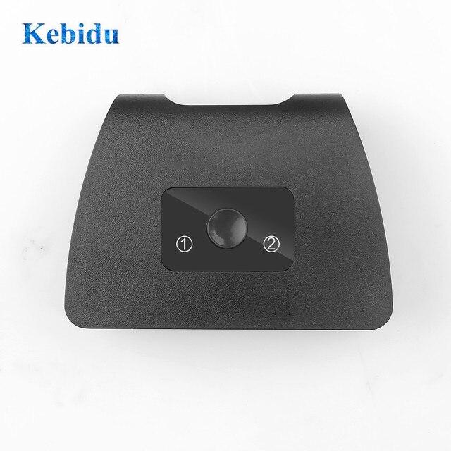 KEBIDU HDMI Switch Switcher 2 พอร์ตBi Directional 1X2/2X1 HDMI Splitter 4KรองรับUltra HD 1080P HDCPสำหรับโปรเจคเตอร์HDTV