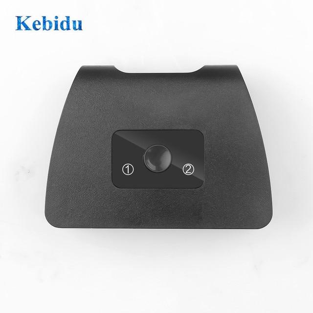 Przełącznik HDMI KEBIDU przełącznik 2 porty dwukierunkowy rozdzielacz HDMI 1x2 / 2x1 4K obsługuje Ultra HD 1080P HDCP do projektora HDTV