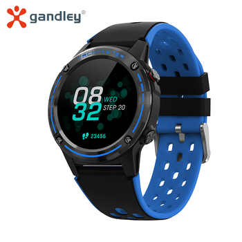 gandlEy M6C GPS Smartwatch Android IOS 2020 Smart Watch Men Women Watches IP67 Fitness Bracelet Electronic Clock - discount item  60% OFF Smart Electronics