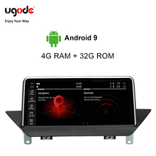 Ugode Android 9.0 For BMW X1 E84 Car Multimedia Player GPS Navigation 10.25 Inches Screen Monitor (2009-2015)Car