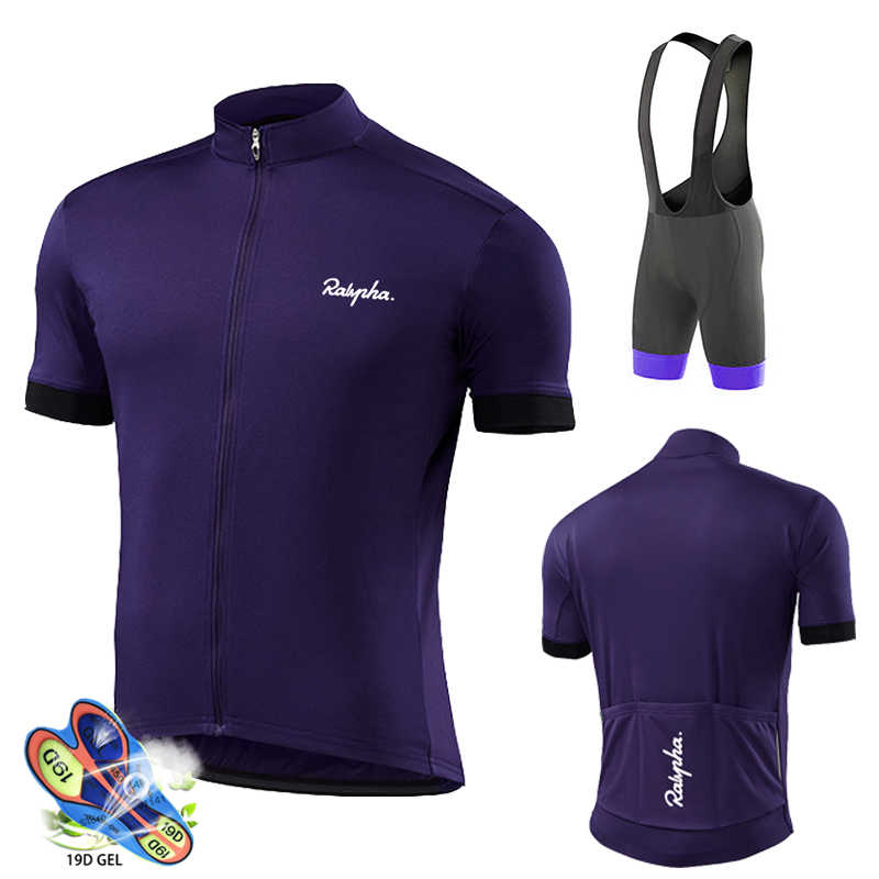 Radfahren Jersey 2020 Pro Team Raphaful Männer Radfahren Set Racing Fahrrad Kleidung Anzug Atmungsaktiv Mountainbike Kleidung Sportwears