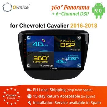 Ownice-REPRODUCTOR DE Radio y DVD para coche, K1, K2, K3, K5, K6, 8 núcleos, Android 9,0, DSP, 4G LTE, GPS Navi, para Chevrolet Cavalier
