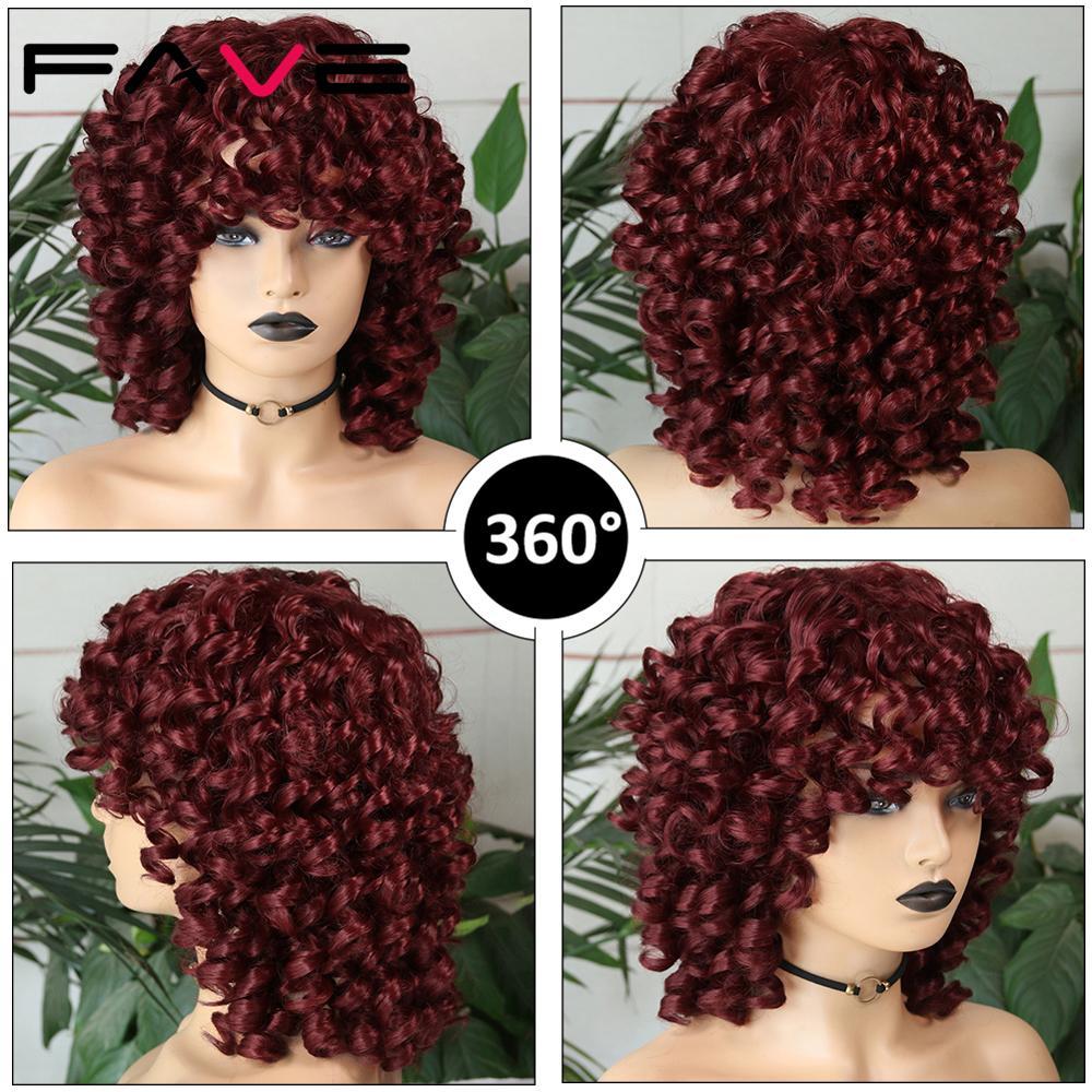 fave loira kinky encaracolado peruca sintetica com 04
