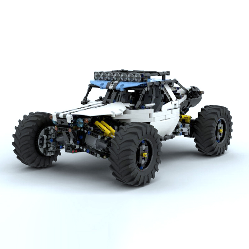 2019 New MOC RC Power Function An4WD RC Buggy for MOC 19517 Building Blocks Toy Kit DIY Educational Children Birthday Gift