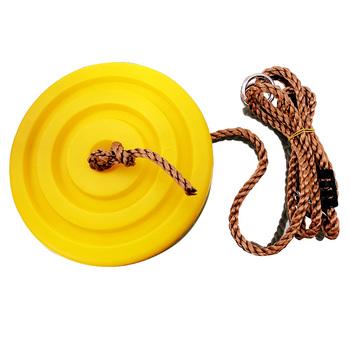 Plastikowa huśtawka ogrodowa huśtawka dziecięca kolor miękka tablica huśtawka zewnętrzna pozioma poprzeczka plac zabaw huśtawka zakrzywiona deska huśtawka tanie i dobre opinie CN (pochodzenie) Meble ogrodowe