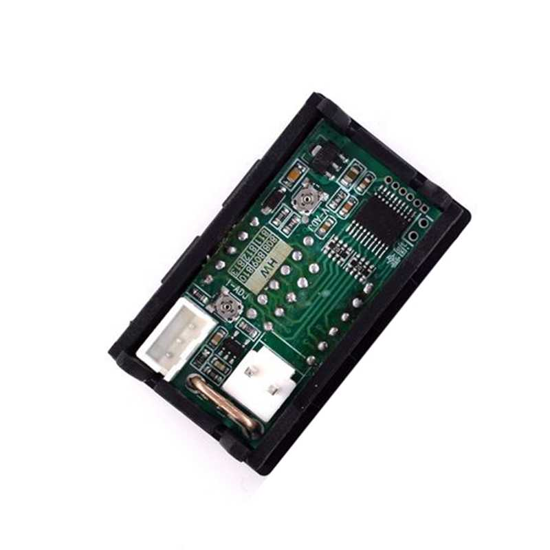 DC 0-100V 5A voltmètre numérique ampèremètre double affichage détecteur de tension courant mètre panneau ampèremètre 0.28 pouces rouge rouge LED