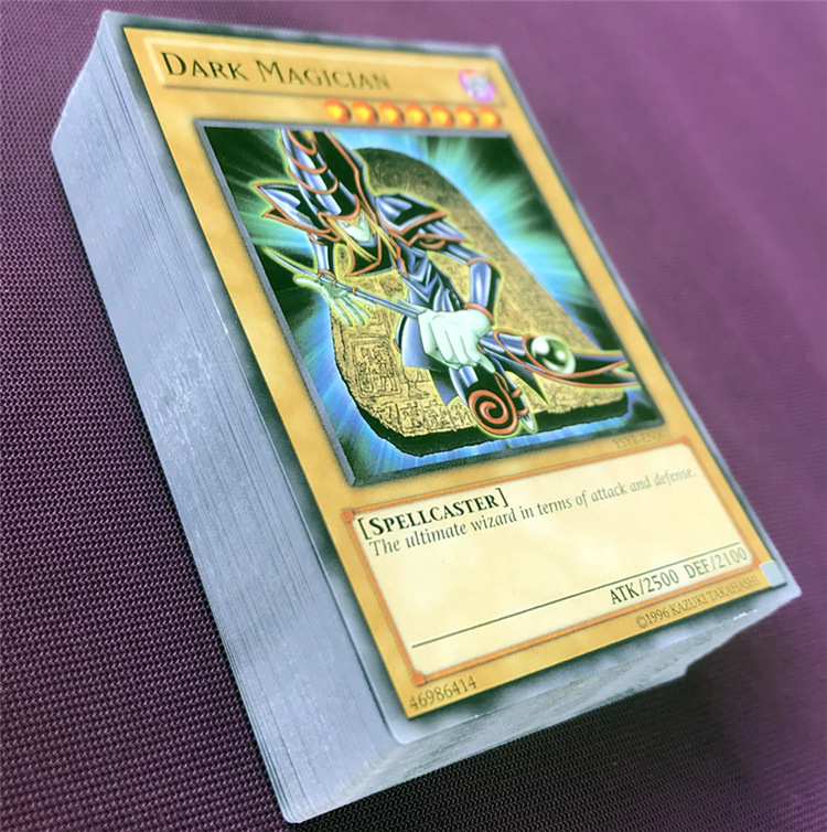 Yu Gi Oh 66pcs Set Cards Egyptian God Collectible Toys For Boy Yu Gi Oh Legendary Board Game Collection Cards With Metal Box