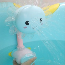Baby Bath Toy Kids Spray Water Game Toys Shower Bathing Toy with Suction Cup Bathtub Toy for Children Kids Toddler cute cartoon animal baby bath toy bathroom plastic mini bee water fountain shower kids bathtub playing bathing tools