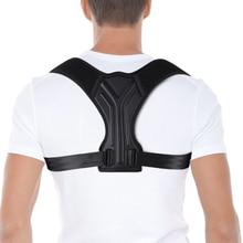 Поясничный плечевой ремень для коррекции спины, регулируемый корректор позвоночника ключицы для женщин и мужчин