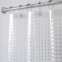Aimjerry 헤비 듀티 3D Eva 클리어 샤워 커튼 라이너 욕실 방수 커튼에 대한 설정 샤워커튼    -