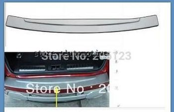 for EVOQUE 2012 for LAND RANGE Rover Interior rear protector trim Stainless Steel good