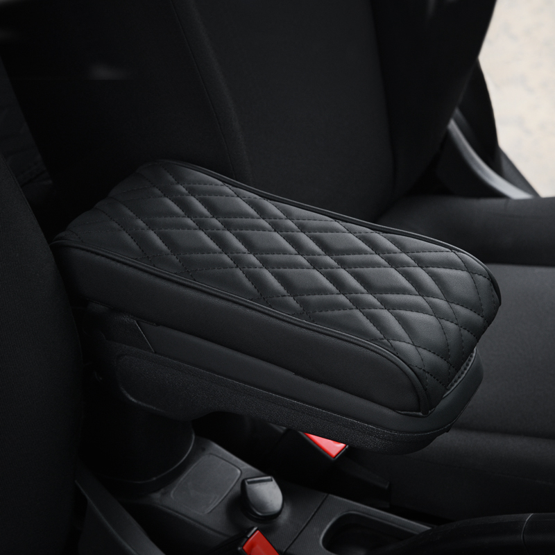 Car Armrest Handrest Cushion Box Cover Hand Pillow Pad Interior Decor For Smart 451 453 fortwo forfour Car Universal Accessories
