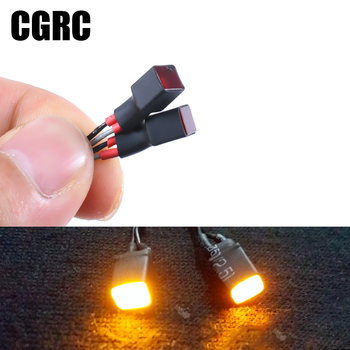 Model car Square lamp Fog lights Contour lights For 1/10 RC Crawler 1/14 Tamiya Truck Car TRX4 SCX10 SCANIA R620 ACTROS 3363 image