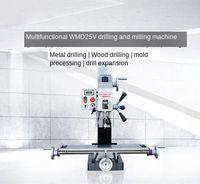 750W Kleine Bohren und Fräsen Maschine DC ohne Spülen Motor Industrielle Desktop Hohe Geschwindigkeit Bohren und Fräsen Maschine WMD25V-in Fräsmaschine aus Werkzeug bei
