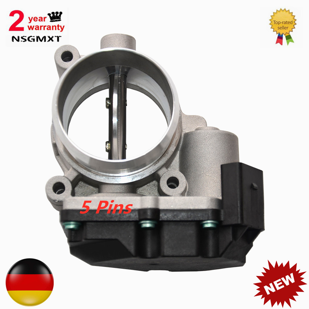 AP01 New 5-PIN Throttle Body For Audi A6 A8 Q7 VW Touareg 2.7 3.0 TDI  059145950A 059145950D 059145950H 059145950R