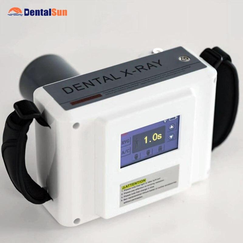 Портативный стоматологический рентгеновский аппарат с ЖК-экраном и HANDY HDR500, 1 X-ray датчик с драйвером TWAIN, совместимый с 10 системами
