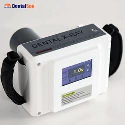 LCD Touth Schermo Unità Dentale Portatile X-ray e A PORTATA di mano HDR500 Formato 1 X-Ray Sensore con TWAIN Driver Compatibile con Sistema di 10