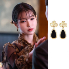 Cloud droplets DEL LUNA Hotel IU Korean dramas TV personality Eardrop Elegant For Women Earrings pendientes brincos ornament