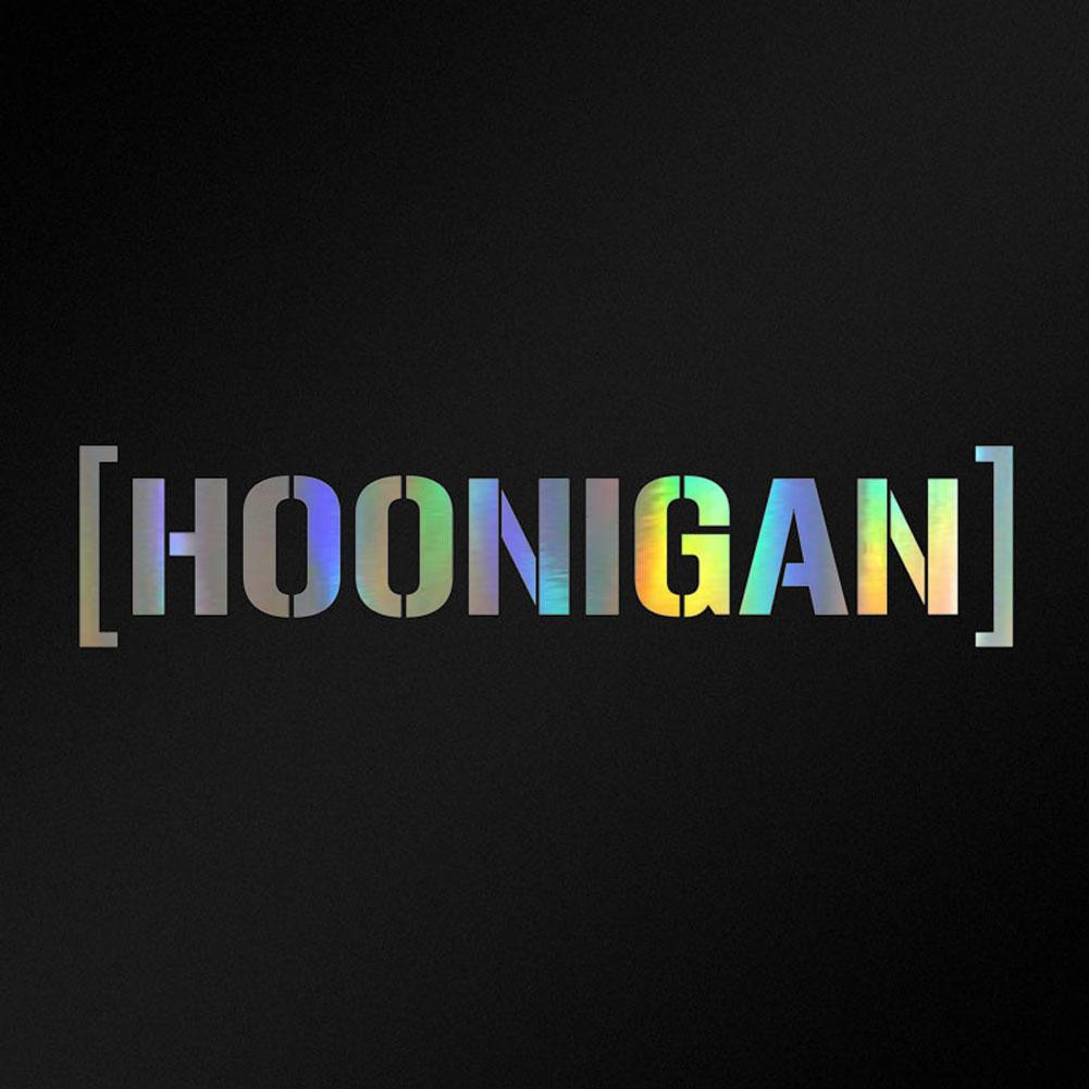 58x10cm Hoonigan Design Vinyl Waterproof Removable Car Styling Sticker Decal