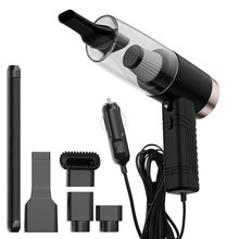 Vacuum-Cleaner Strong-Suction And Wet Power with Aromatherapy-Lamp Dry-Dual-Use Car-3-In-1