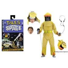 Neca de volta para o futuro marty mcfly biff tannen final figura de figurinhas ação colecionáveis modelo brinquedo