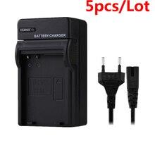 5 batteries de caméra pour Nikon EN-EL14 EN EL14a EL14 MH-24 MH24 P7000 P7100 D3100 D3200 D5100 D3300 D5200 D5300 P7200 P7800