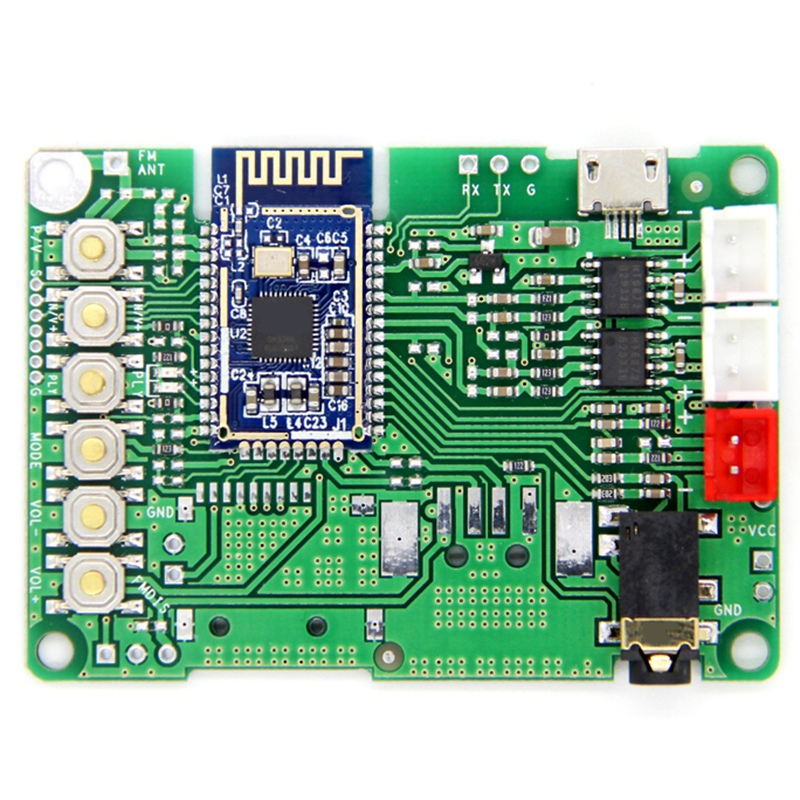 Bluetooth 5.0 Transmitter Receiver Module BK3266 Audio Stereo Amplifier Board AUX Audio Input DC 3.6 -5V