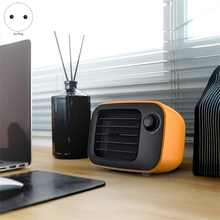 цена на Portable Electric Heater Household Heater Desktop Electric Mini Heater Fan PTC Air Warmer Home Office for Winter EU PLUG