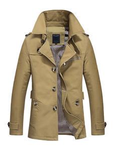 Mountainskin Mens Jacket Clothing Trench-Coat Business-Eda216 Male Autumn 5XL Long Windbreaker