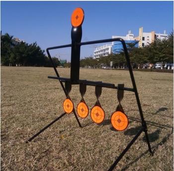 Targets Automatic Reset Rotating Gun Rifle Shooting Metal Targets for Outdoor Hunting Shooting Practice/Playing david watson abcs of rifle shooting