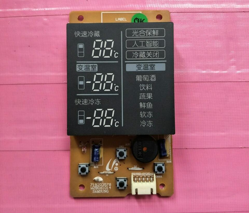 95% New For Samsung Refrigerator Display Board 719203578 WZB061014 Board Good Working