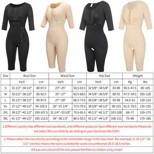 Image 5 - Powernet pour femmes, Corset amincissant pour sculpter le corps, Post chirurgie, gaine dentraînement de la taille, gaine amincissante, contrôle du ventre, bras