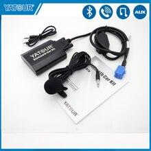 Yatour Per Auto Bluetooth AUX Kit per Renault Laguna Megane Scenic Siemens VDO Dayton 8 pin Mp3 Lettore CD changer adattatore YTBTK