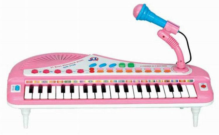 Children Multi-functional Electronic Keyboard With Microphone Small Educational Vocal Music Toy Xue Xi Qin Music ENLIGHTEN Toy