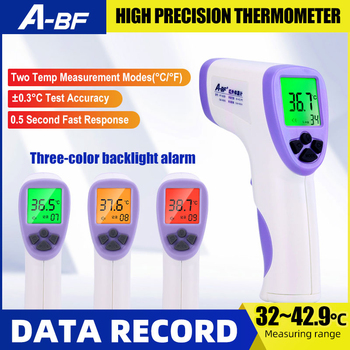 A-BF CW-H043 Thermometer Temperature Gun High Precision No-contact Infrared Thermometer Digital Display Portable Pyrometer