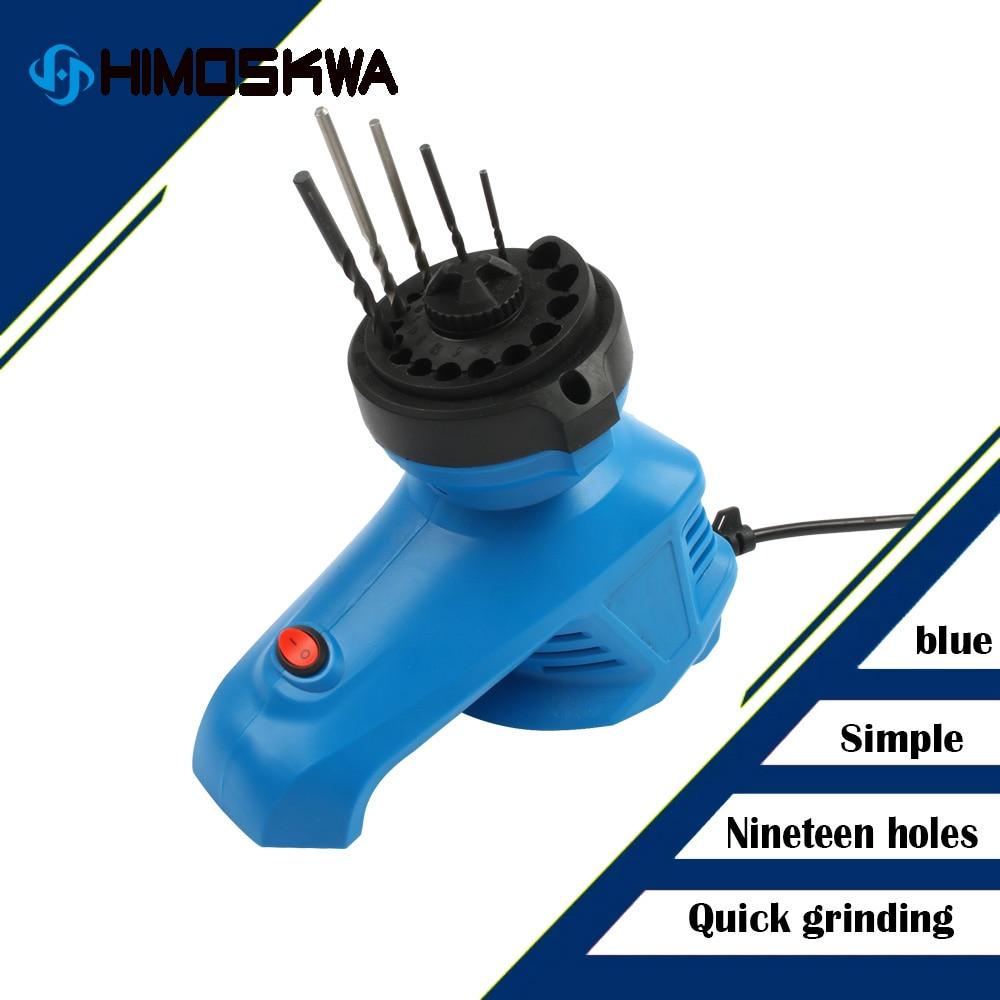 Elektrische Bohrer Spitzer Twist Bohrer Schleifen Maschine Hohe Geschwindigkeit Bohrer Grinder Maschine 95W 1350rpm Für Schleifen Bohrer