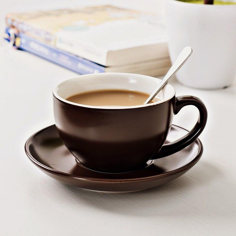 Креативная керамическая кофейная чашка блюдце наборы эспрессо кафе кружка Ресторан молоко капучино латте кофейная кружка приносить ложку ...