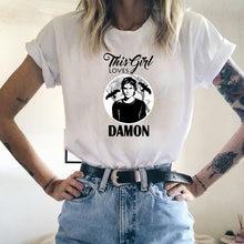 The vampire diaries t shirt women harajuku tshirts streetwear