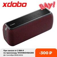 XDOBO-altavoz portátil X8 de 60W con Bluetooth, caja de sonido con Subwoofer, inalámbrico, impermeable, TWS, Boombox, reproductores de Audio