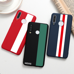 Luxury Simple Stripe Phone Case For Huawei Honor 9S 9C 9X 9A 8A 8X Play 4T Pro 9A X10 Mate 30 30S 20i 20 10i X10 10 9 Lite Capas