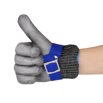 Anti-cut Gloves Safety Cut Proof Stab Resistant Stainless Steel Wire Metal Mesh Butcher Cut-Resistant Gloves anti cut gloves safety cut proof stab resistant anti cut level 5 safety work gloves kitchen butcher cut resistant gloves