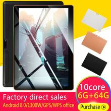 10.1 Inch Tablet 3G Call Wifi Bluetooth Gps Android Game Tablet Plastic Actual 1+16G(China)