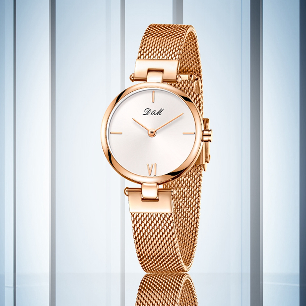 DOM Watch Women Watches Female clock 2019 New ladies Wristwatch fashion casual Luxury famous brand reloj mujer relogio feminino